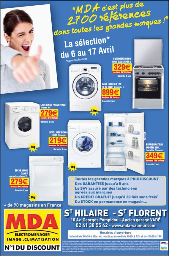 Nos dernières promotions - MDA Saumur